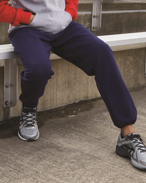 Russell Athletic Dri Power Closed Bottom Sweatpants with Pockets 029HBM