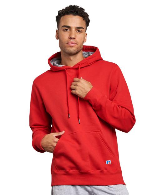 Russell Athletic Cotton Rich Fleece Hooded Sweatshirt 82ONSM