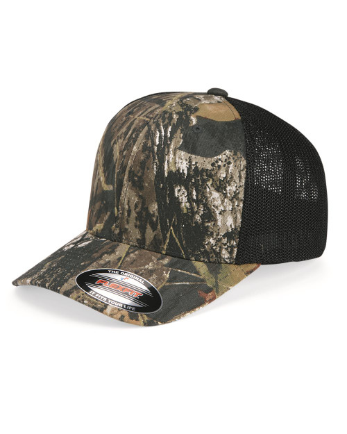Flexfit Mossy Oak Stretch Mesh-Back Cap 6911