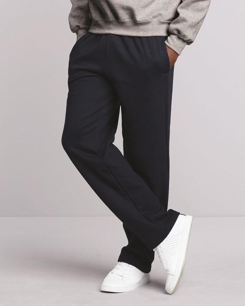 Gildan DryBlend Open-Bottom Sweatpants with Pockets 12300