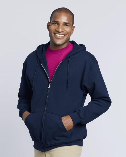 Gildan DryBlend Full-Zip Hooded Sweatshirt 12600