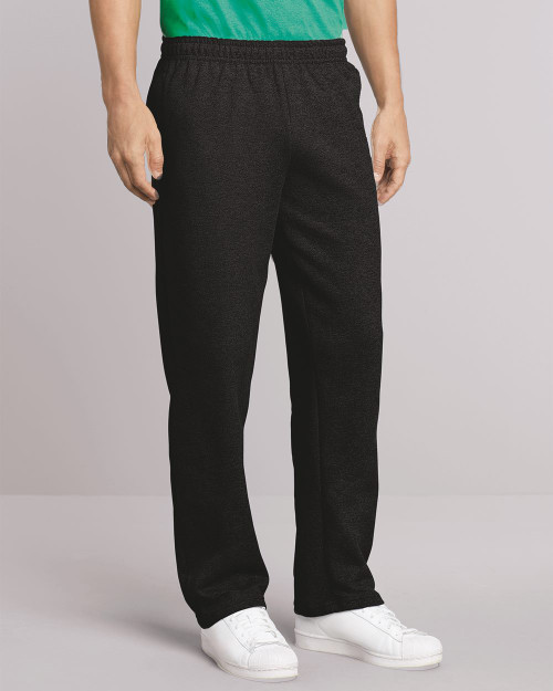 Gildan Heavy Blend Open-Bottom Sweatpants with Pockets 18300