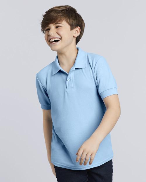 Gildan DryBlend Youth Double Pique Sport Shirt 72800B