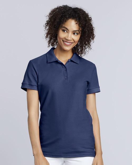 Gildan Premium Cotton Women's Double Pique Sport Shirt 82800L
