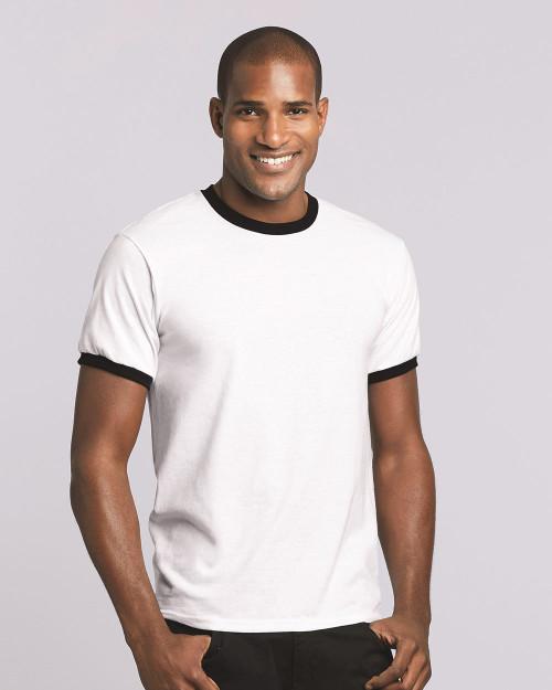 Gildan DryBlend Ringer T-Shirt 8600