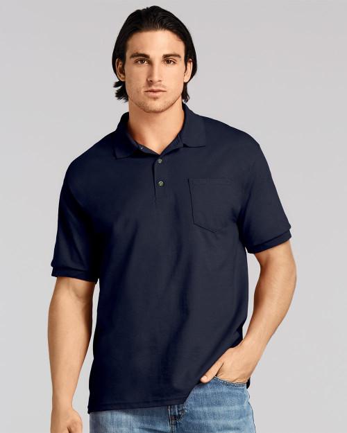 Gildan DryBlend Jersey Pocket Sport Shirt 8900