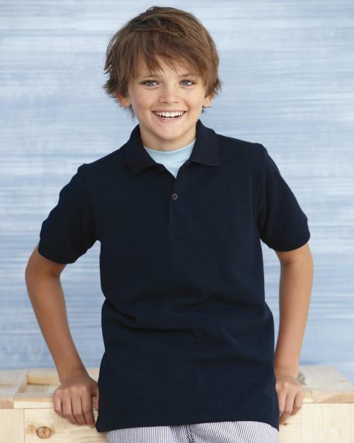 Gildan DryBlend Youth Pique Sport Shirt 94800B