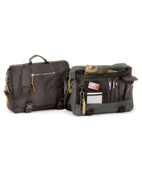 Liberty Bags Ballistic Brief Expandable Briefcase 18008