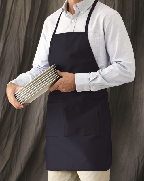 Liberty Bags Long Butcher Block Apron 5505
