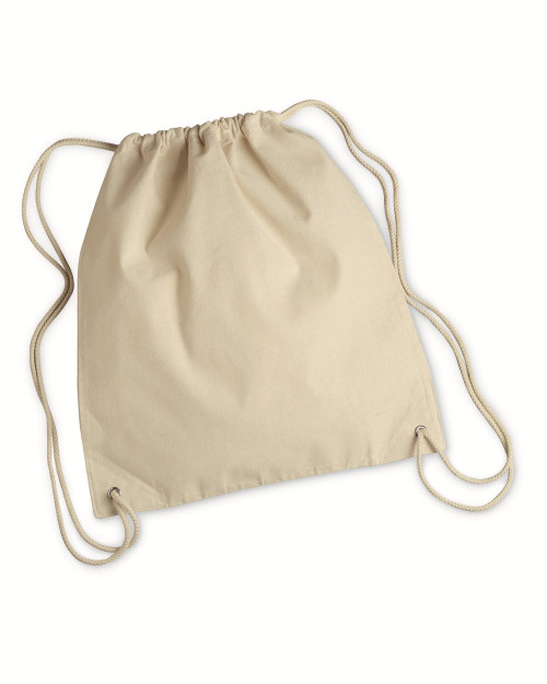 Liberty Bags Canvas Drawstring Backpack 8875