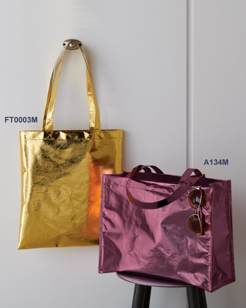 Liberty Bags Metallic Large Tote A134M