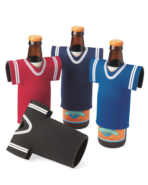 Liberty Bags Collapsible Jersey Foam Can & Bottle Holder FT008