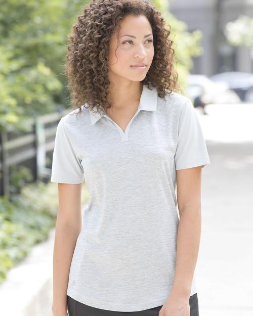 Adidas Women's Heather Block Sport Shirt A146