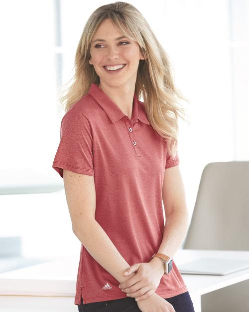 Adidas Women's Heathered Sport Shirt A241