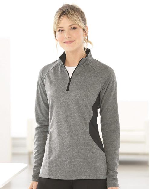 Adidas Women's Lightweight Quarter-Zip Pullover A281