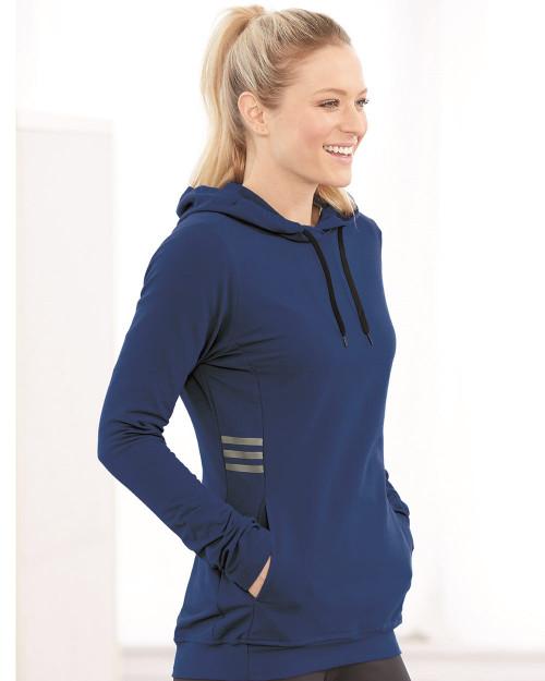 Adidas Women's Lightweight Hooded Sweatshirt A451
