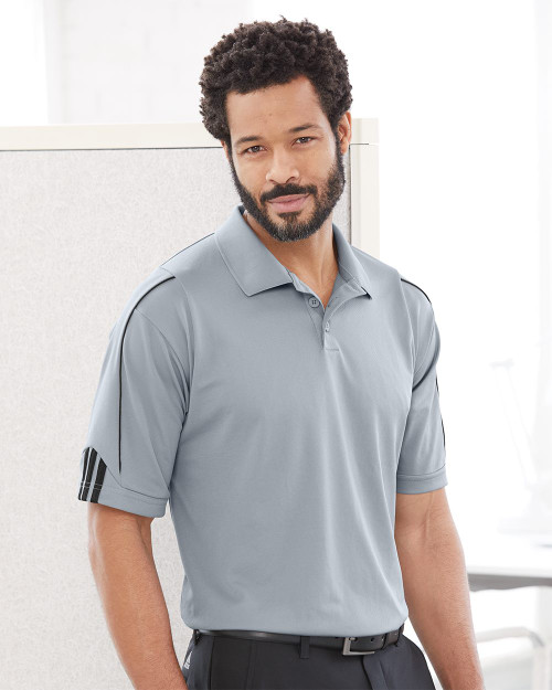 Adidas Climalite 3-Stripes Cuff Sport Shirt A76