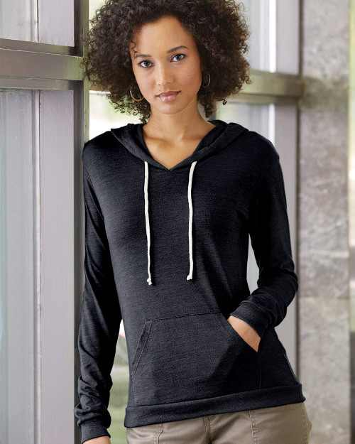 Alternative Women's Eco-Jersey Classic Pullover Hoodie 1928