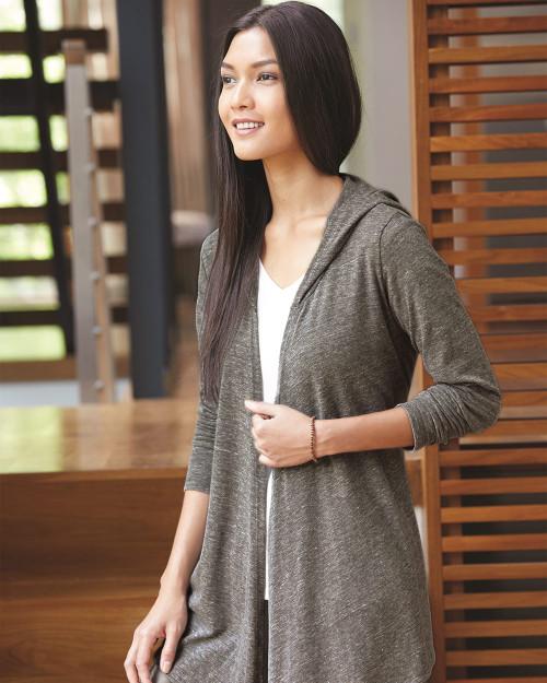Alternative Women's Eco-Jersey Hooded Warm-Up Wrap 2835