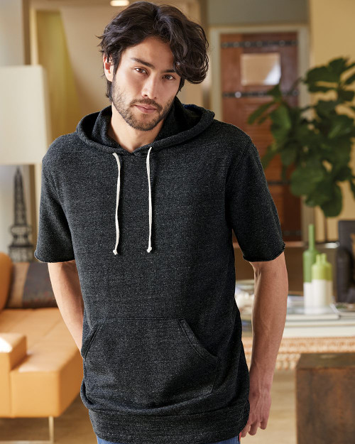 Alternative Eco-Fleece Baller Short Sleeve Hoodie 3501