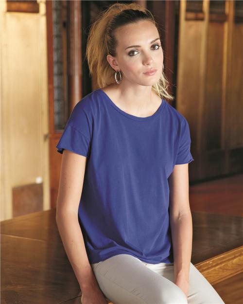 Alternative Women's Rocker Garment Dyed T-Shirt 4134