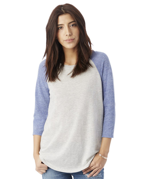 Alternative Women's Baseball Eco-Jersey Raglan T-Shirt 61352