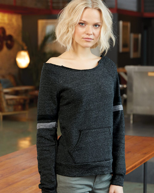Alternative Women's Maniac Sport Eco-Fleece Sweatshirt 9583