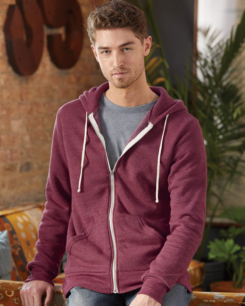 Alternative Rocky Eco-Fleece Full-Zip Hooded Sweatshirt 9590