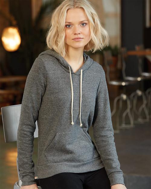 Alternative Women's Athletics Eco-Fleece Hooded Sweatshirt 9596
