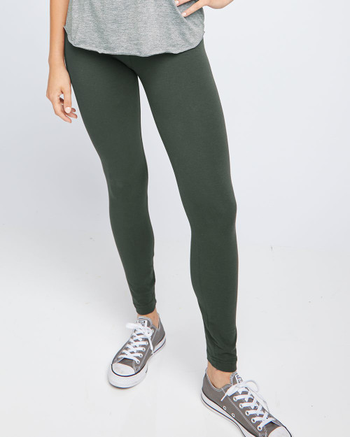 American Apparel Women's Spandex Jersey Leggings 8328W