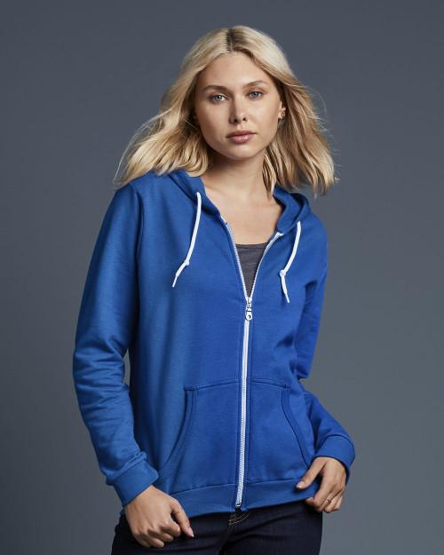 Anvil Women's Full-Zip Hooded Sweatshirt 71600FL