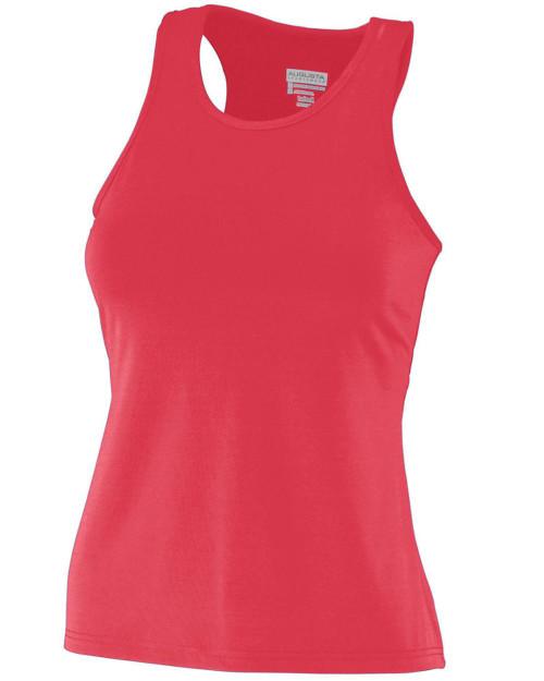 Augusta Sportswear Girls' Solid Racerback Tank 1203