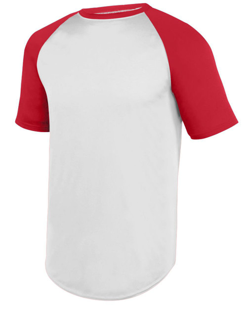 Augusta Sportswear Wicking Short Sleeve Baseball Jersey 1508