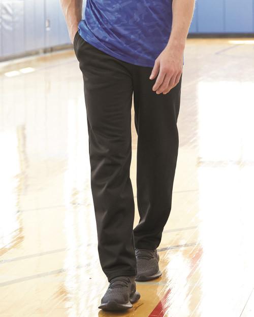 Badger Performance Fleece Open-Bottom Sweatpants 1478