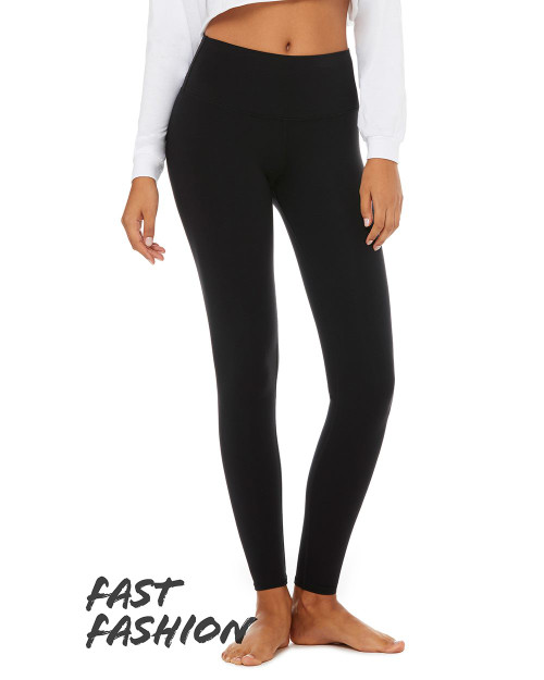 BELLA + CANVAS Fast Fashion Women's High Waist Fitness Leggings 0813