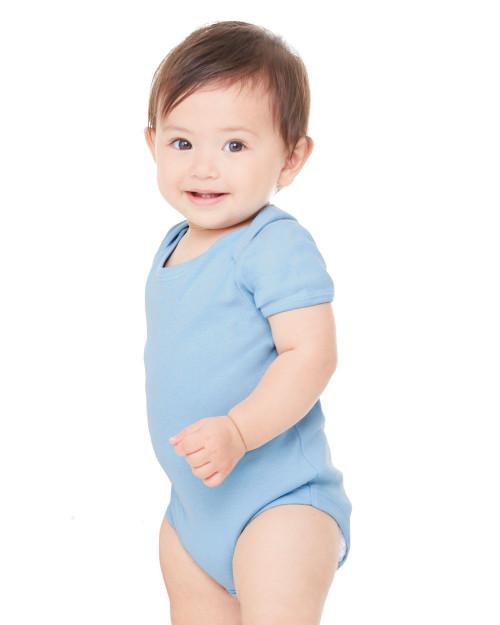 BELLA + CANVAS Infant Baby Rib Creeper 100
