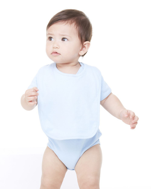 BELLA + CANVAS Infant Baby Rib Reversible Bib 170