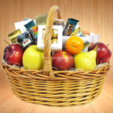 Fruit Basket of Delight - Gift Basket. Same day delivery in the Miami area. Fruit baskets are great for any occasion!