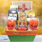 Blessings of Autumn - Thanksgiving Day Basket by Joyce's Baskets