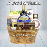 A World of Thanks - Gift Basket