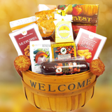 Welcome - Thanksgiving Gift Basket by Joyce's Baskets