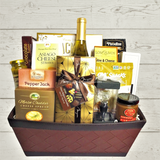 This Signed, Sealed, Delivered  Gift Basket  is perfect for realtors closing gifts and housewarming gifts.