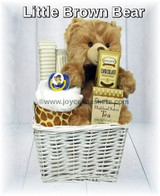 Little Brown Bear - Baby Gift Basket