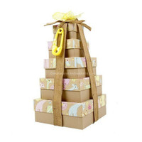 Baby Gift Basket Towers