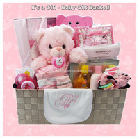 It's a Baby Girl - Baby Gift Basket