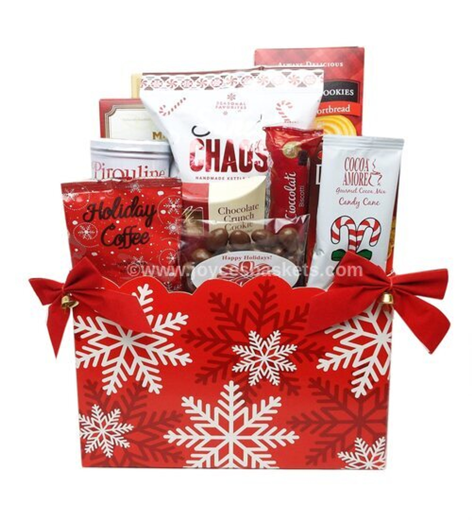 Let It Snow Christmas Basket Gifts For Christmas Christmas Baskets