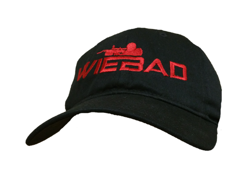 WieBad Logo Black/Red Cap