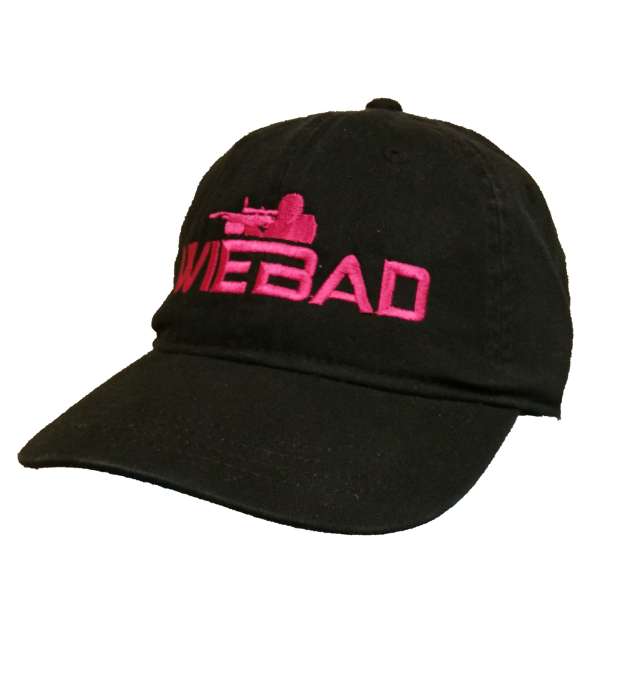 WieBad Logo Black/Hot Pink Cap