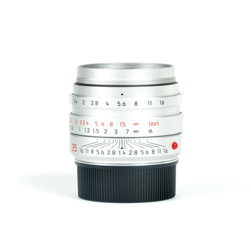 Pre-Owned Leica 35mm f1.4 Summilux-M ASPH Chrome #4589641