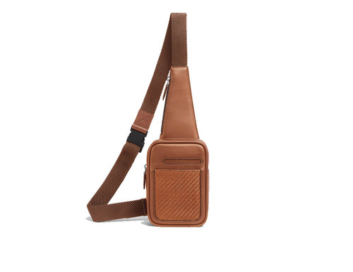 Leica Zegna Insta-pack Cross Body Bag Tan